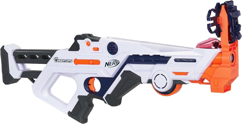 Nerf E2279 Laser Ops explosión de Combate de Fuego Blaster