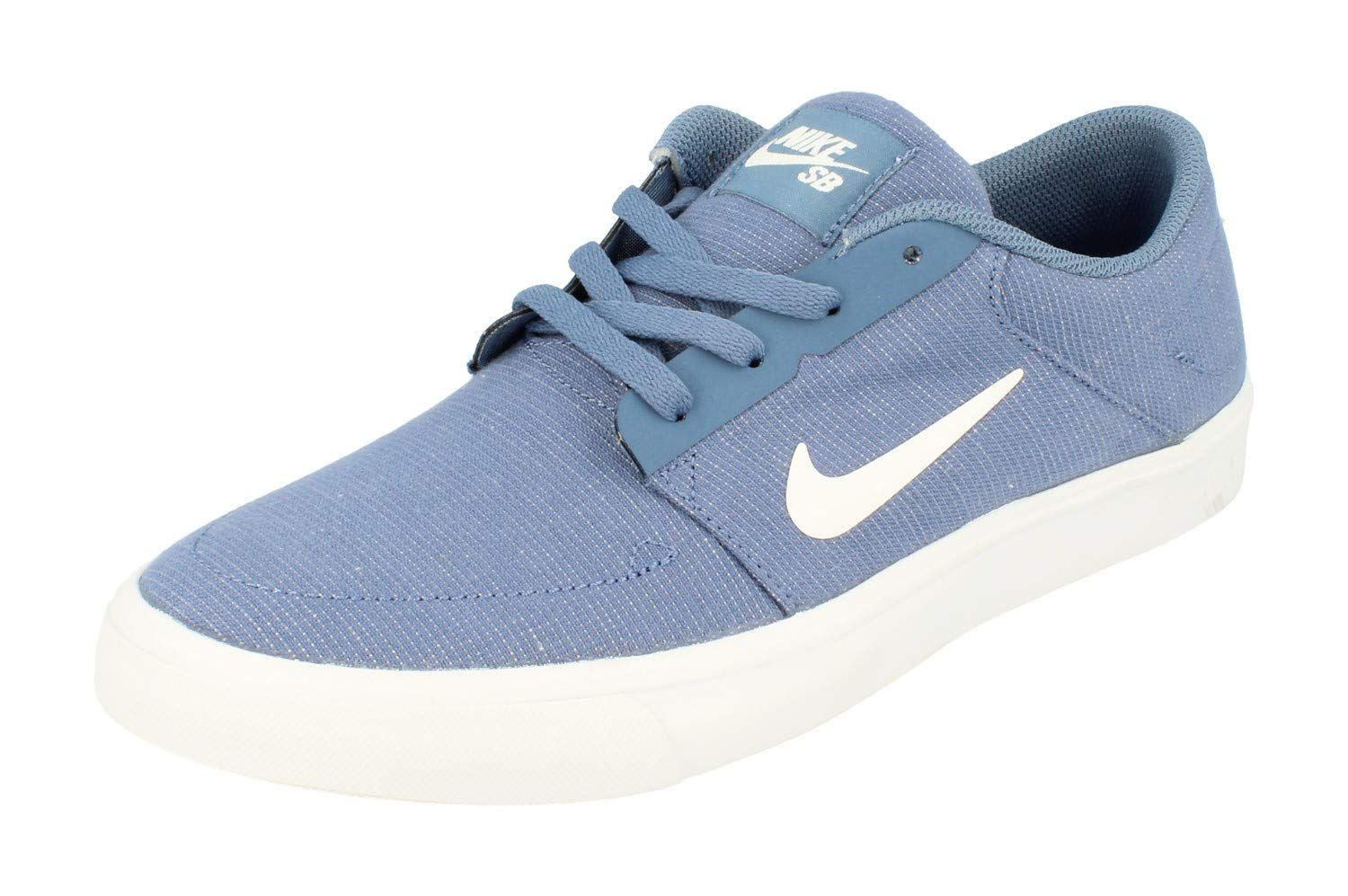 6c9473c1f48fcd Galleon - NIKE SB Portmore Canvas Mens Trainers 723874 Sneakers Shoes (UK 6  US 7 EU 40, Ocean Fog White 401)