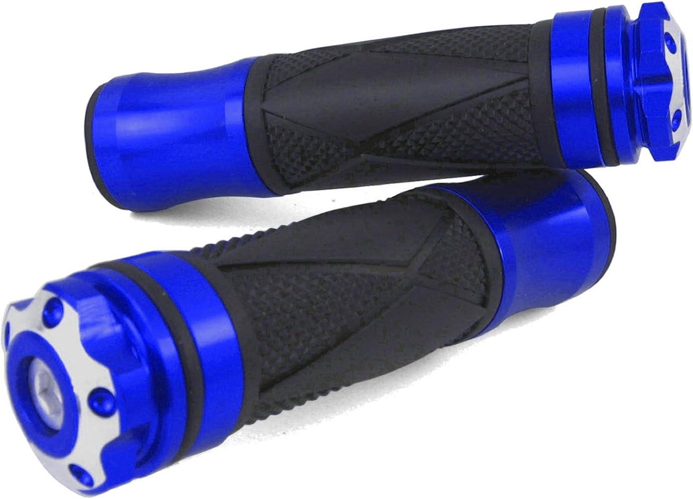 Super 8 Super Spacer Xtreme//Blau CNC Alu Lenkergriffe Kymco Sniper Yager Vitality 9 Sunboy