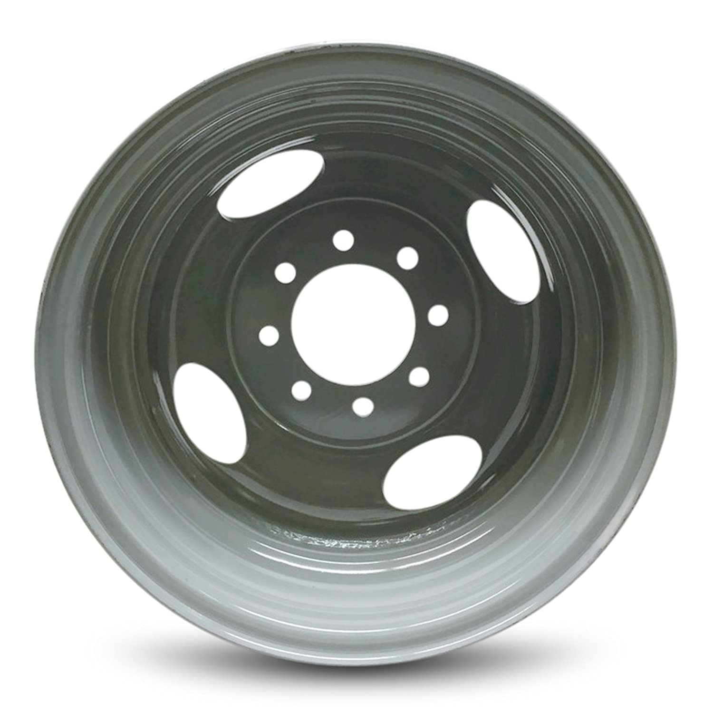 "Amazon Steel Rims Chevrolet GMC 3500 Pickup 16"" 8 Lug DRW"