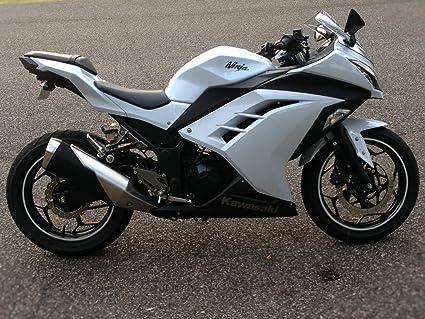 Amazon.com: Kawasaki Ninja 300 Fender Eliminator Tail Tidy ...