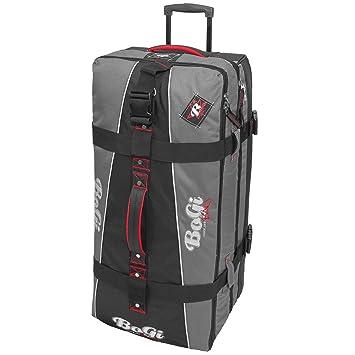 Bogi Bag chariots voyage, sacs de voyage, sacs de sport, sacs de loisirs - 110 litre - noir/gris