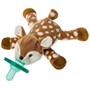 Mary Meyer WubbaNub Infant Pacifier ~ Amber Fawn