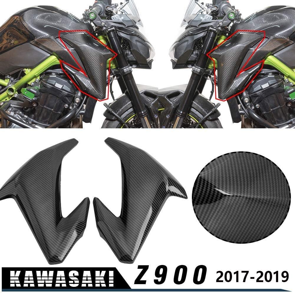 Lorababer Z900 Front Tank Seitenverkleidung Verkleidungsverkleidung Gasschutz Für 2017 2018 2019 2020 Kawasaki Z 900 Motorradzubehör Auto
