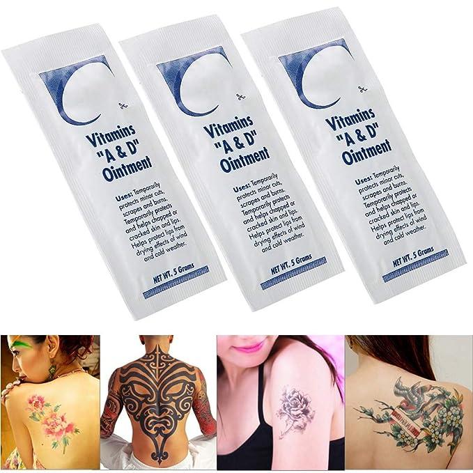 Crema para el cuidado posterior del tatuaje, 10 piezas/bolsa ...