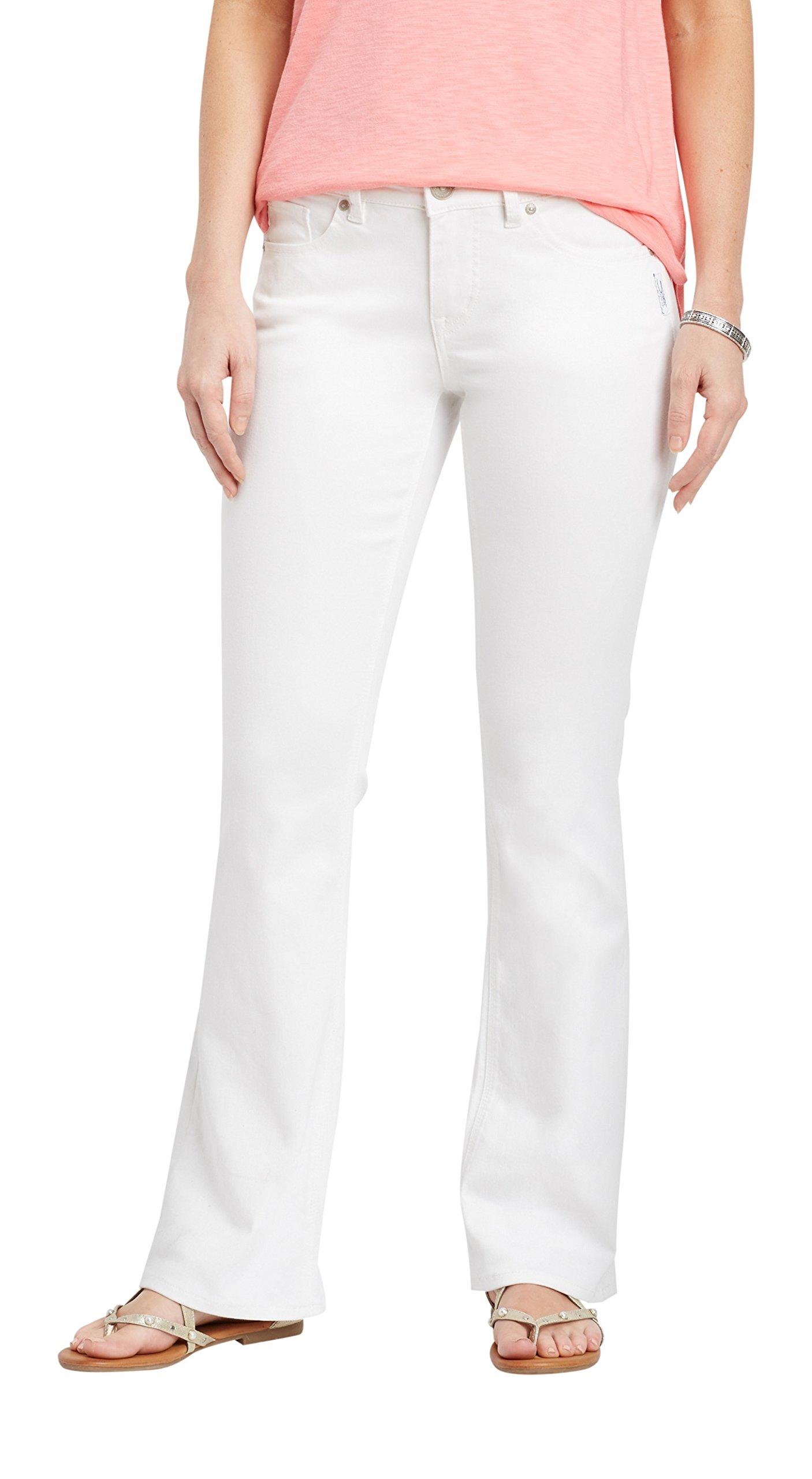 Silver Jeans Co.. Women's Suki White Boot Cut Jean 32W White