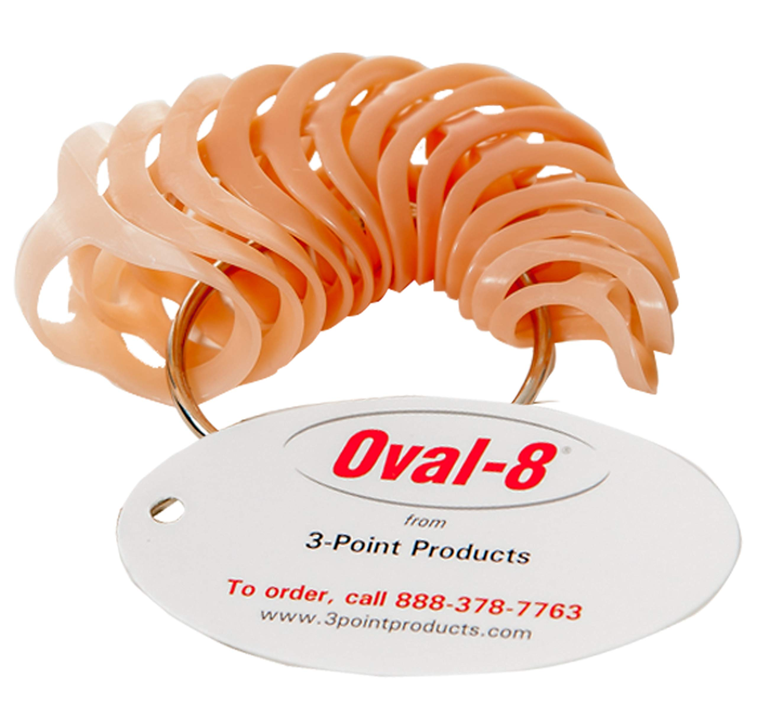 3-Point Products Oval-8 Finger Splints, Sizing Set