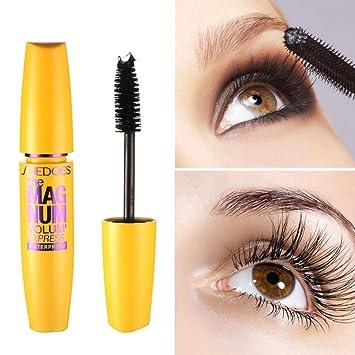 19a8028cd19 Amazon.com : Hunputa Mascara, Voluminous Million Lashes Mascara, Waterproof  Washable Mascara, Very Black : Beauty