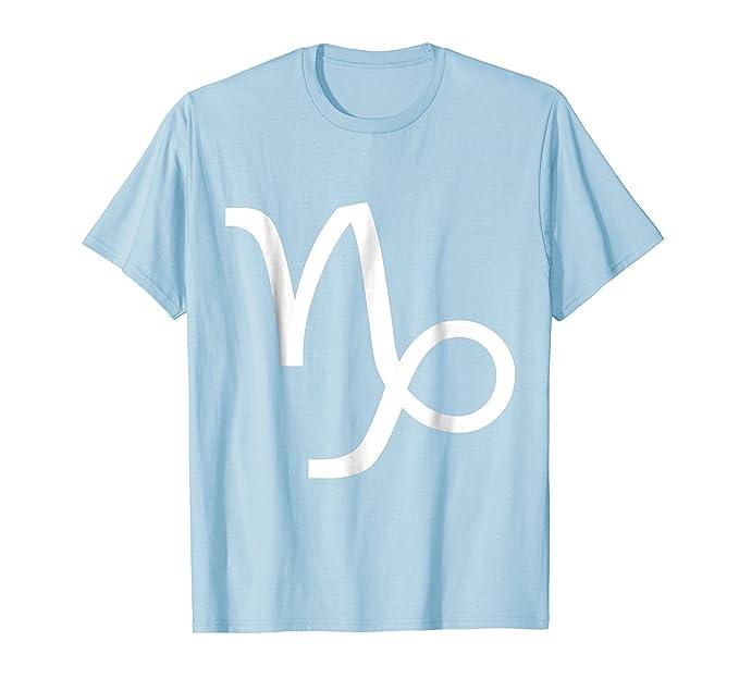 Amazon Capricorn Symbol T Shirt Zodiac Horoscope December