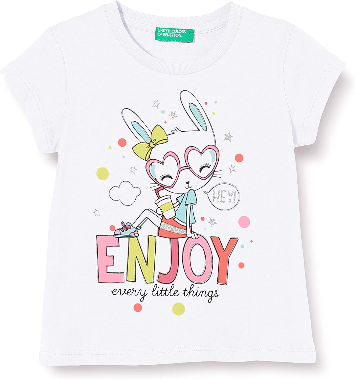 United Colors of Benetton Baby-M/ädchen T-Shirt Pullunder