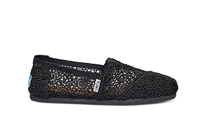 c98cf50944a Image Unavailable. Image not available for. Color  TOMS Women s Classic  Moroccan Crochet ...