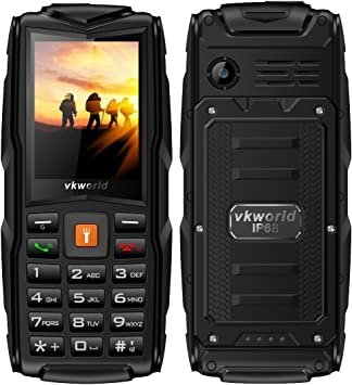 Desbloqueado Smartphone, IP68 impermeable al aire libre móvil, 2.4 ...