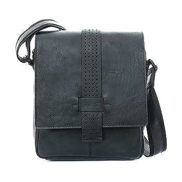 Amazon.com | VÉLEZ 20238 Men Genuine Leather Crossbody Bag | Bandolera De Cuero Black | Backpacks