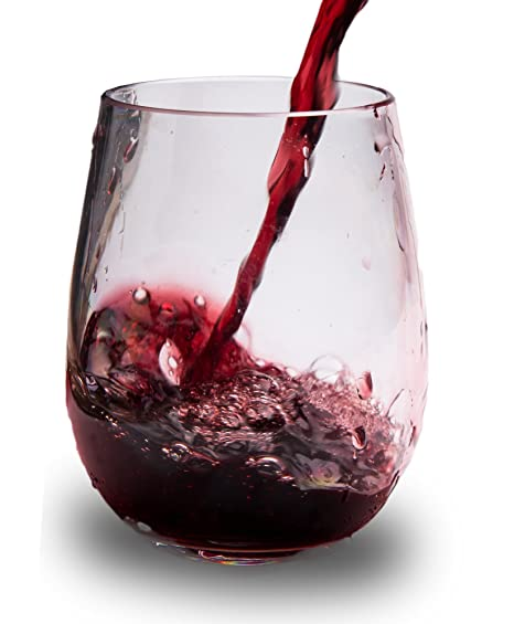 quality red wine glasses plastic wine glasses set of stemless red white glass unbreakable tumblers