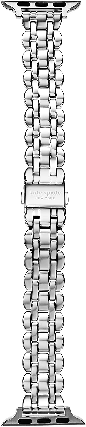 Kate Spade New York Interchangeable Stainless Steel Band Compatible with Your 38/40MM Apple Watch- Straps for use with Apple Watch Series 1,2,3,4,5,6