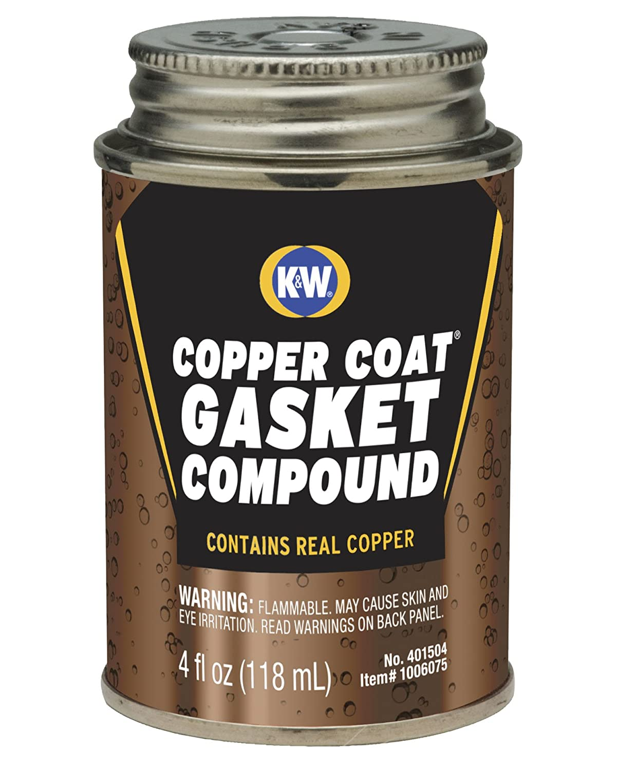 CRC 401504 Copper-Coat Liquid with Dauber, 4 Fl Oz