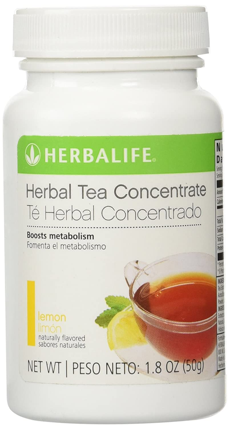 herbalife loaded tea nutrition facts