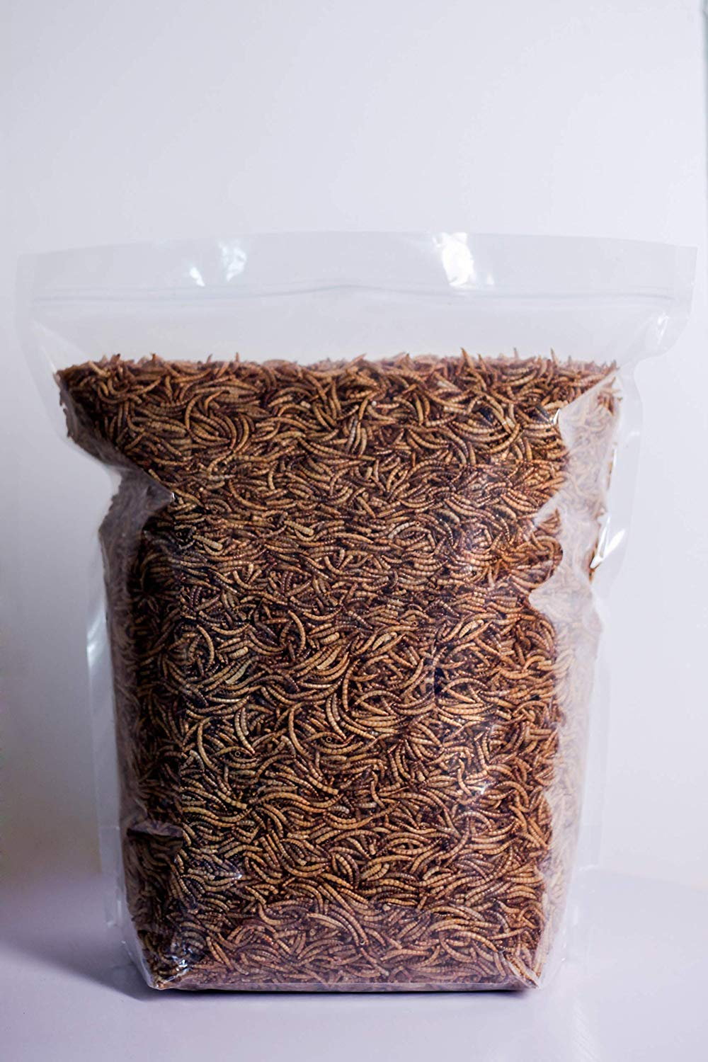 Kimoe 5LB 100% Natural Non-GMO dried mealworms for Birds, chicken,ducks by kimoe