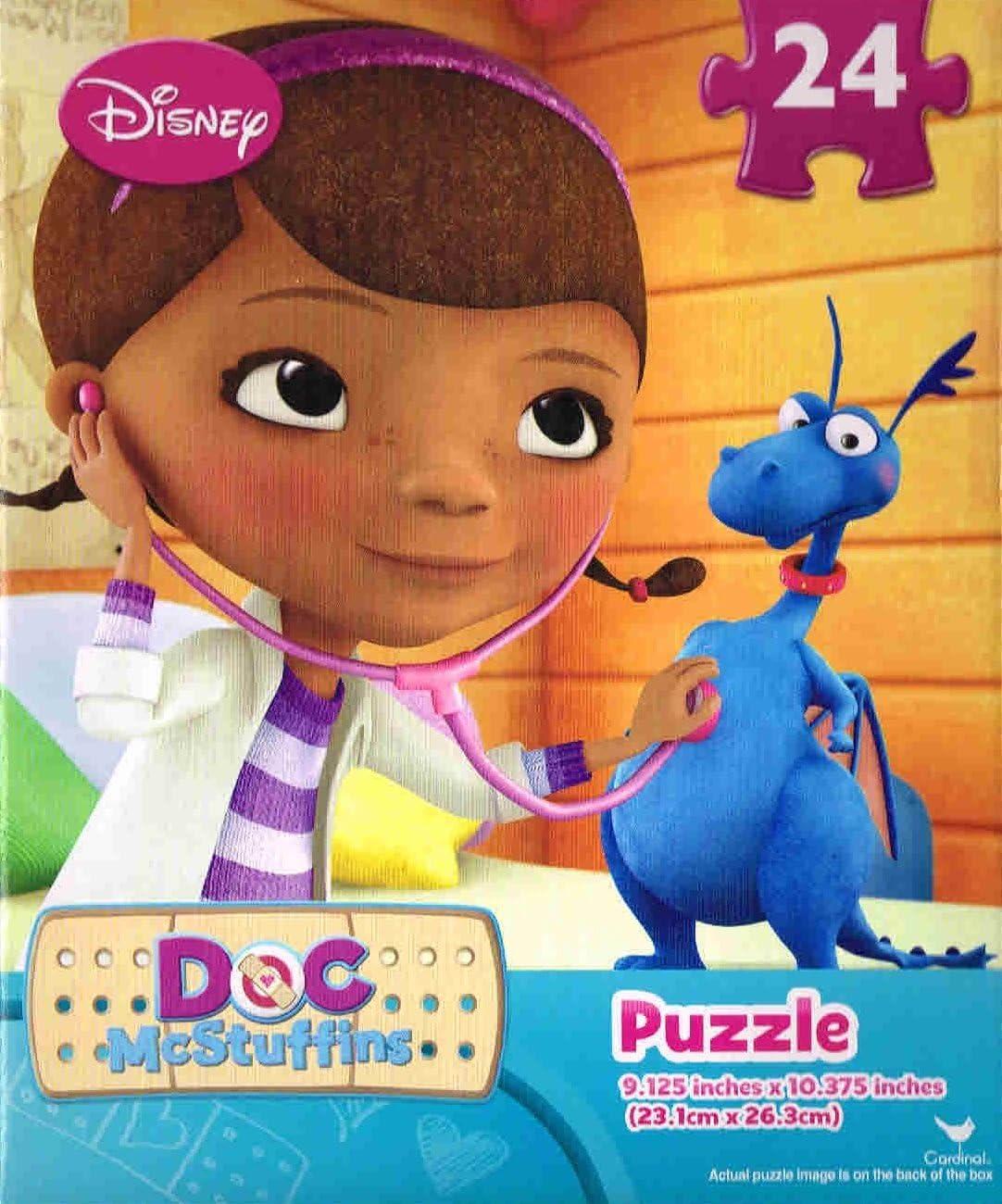 Doc McStuffins Disney 24-Piece Puzzle Two Pack