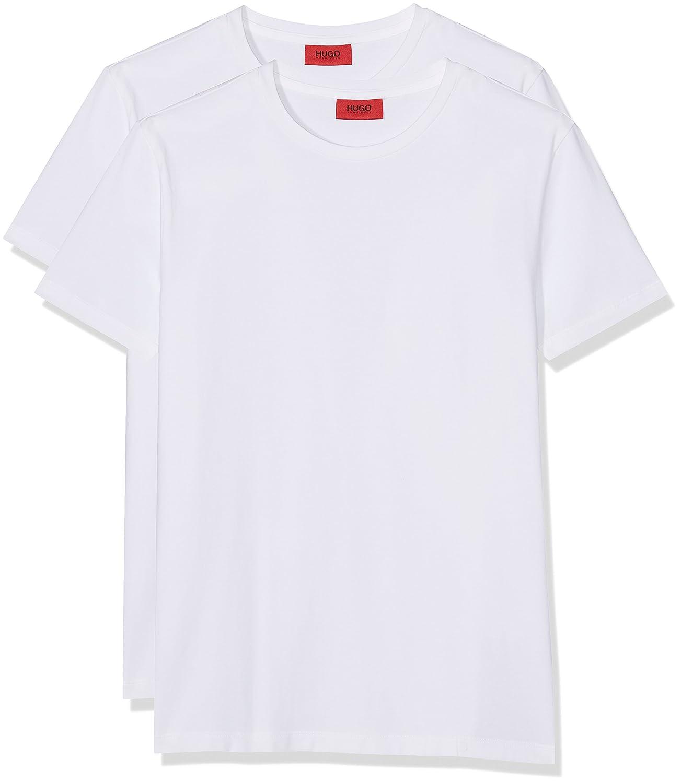 e0d7228d Amazon.com: Hugo 2 Pack Crew Neck T-Shirt in White: Clothing