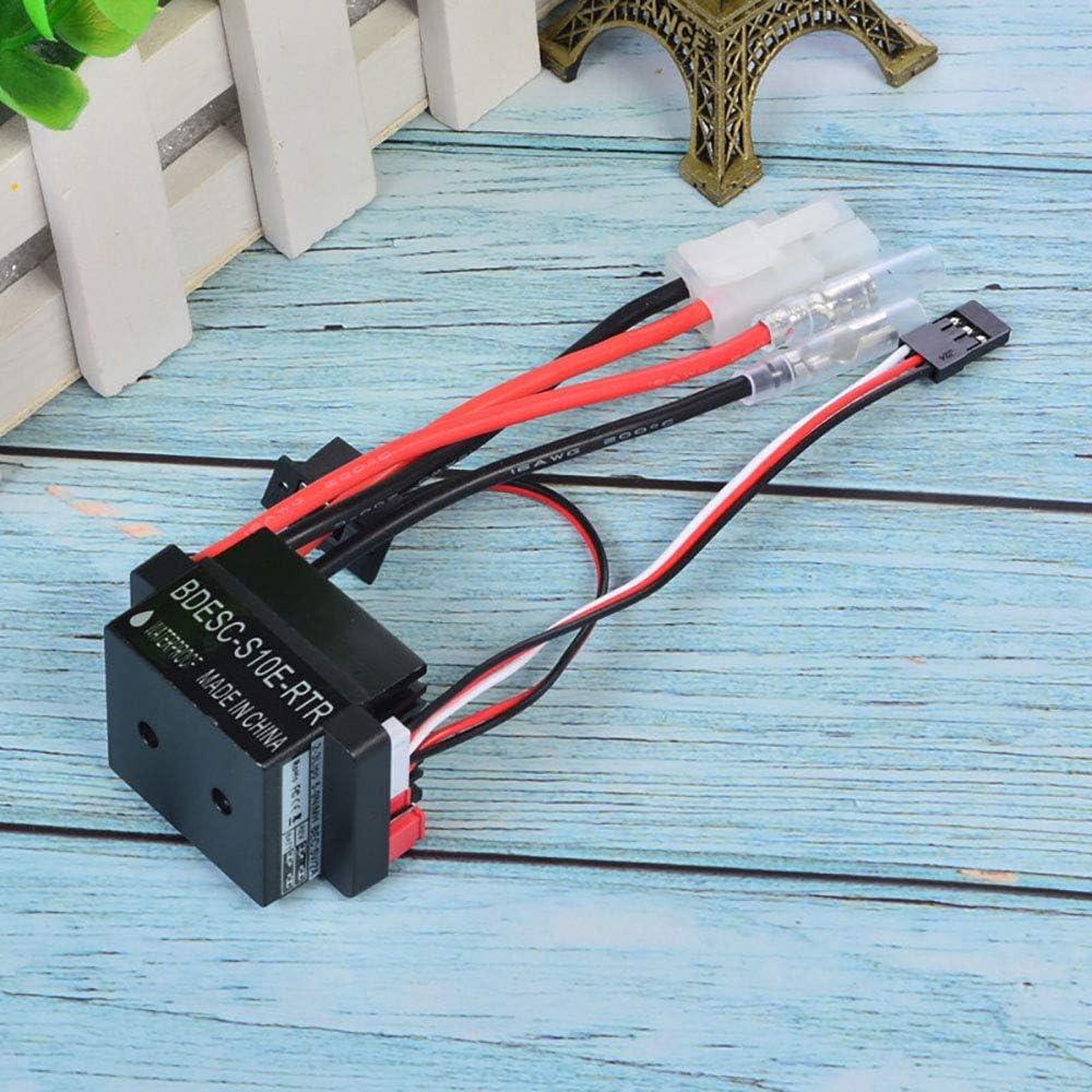 Comimark 2Pcs 320A 6-12V Brushed ESC Speed Controller W//2A BEC for RC Boat U6L5 G2I7
