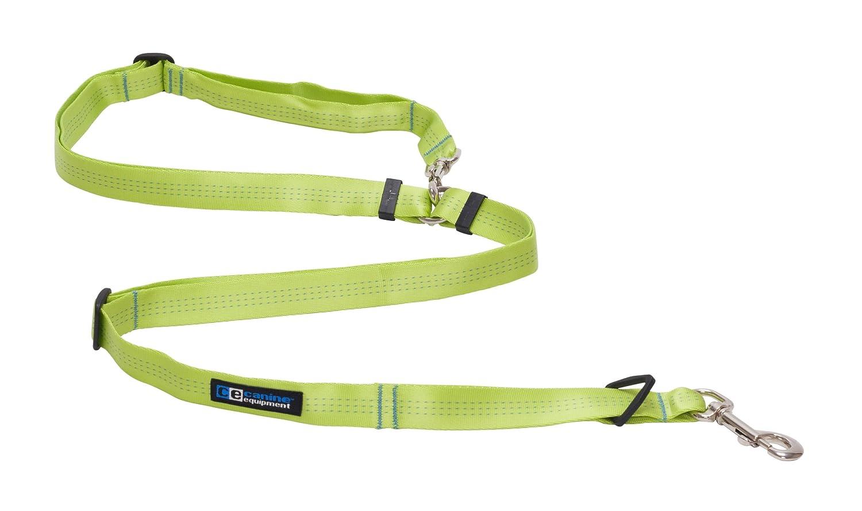 Canine Equipment Technika Beyond Control Dog Leash, 3 4-Inch Width, Lime