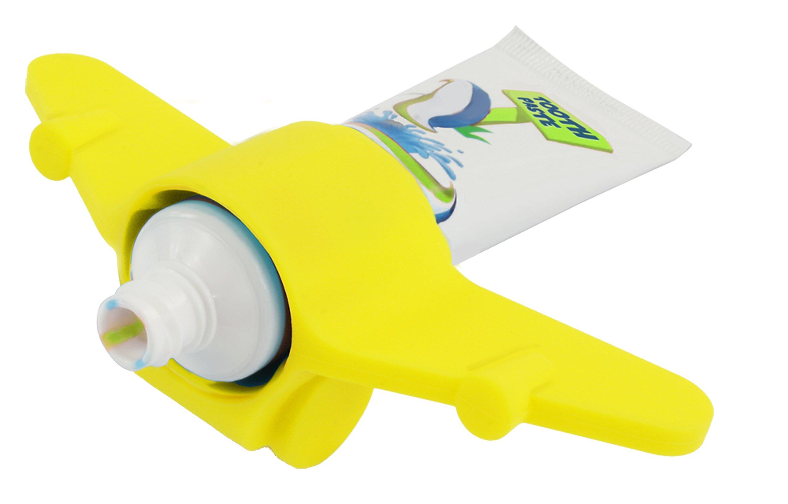 Plane Toothpaste Holder (Yellow)