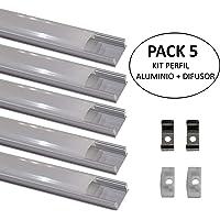 Led Atomant 5 x1 Perfil de Aluminio