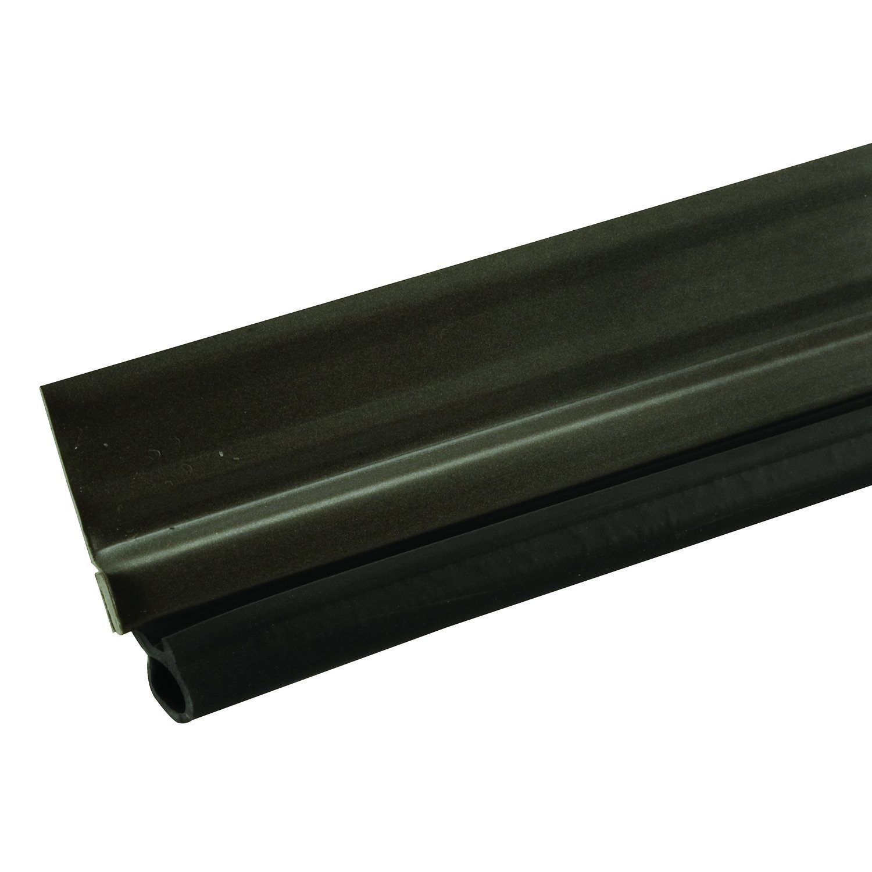 Prime-Line MP4782 Jamb Weatherstrip, 36 x 84-Inch, Aluminum and Vinyl Construction, Bronze Finish, 1 Kit