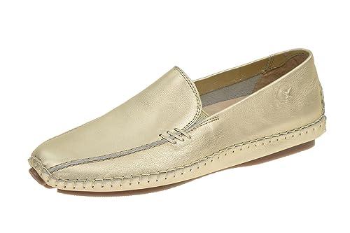 Pikolinos 578-8242cl Champagne - Mocasines de Piel para mujer, color gris, talla 36 EU: Amazon.es: Zapatos y complementos