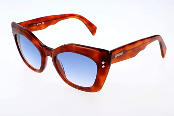 Just Cavalli Mujer Gafas de sol, Marrón (Brown), 50: Amazon ...