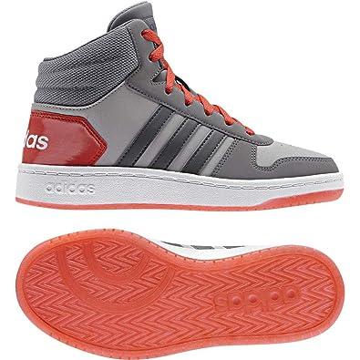 adidas Unisex Kinder Hoops Mid 2.0 K Fitnessschuhe, Grigio