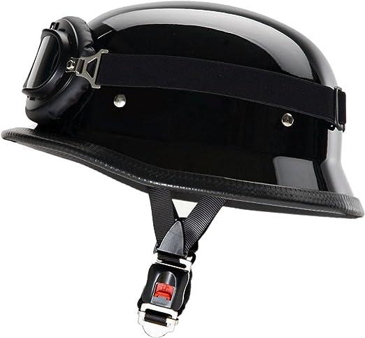 ATO-Helme wH1 casque de moto noir mat stahlhelm de lunettes /à 62 cm taille XXL