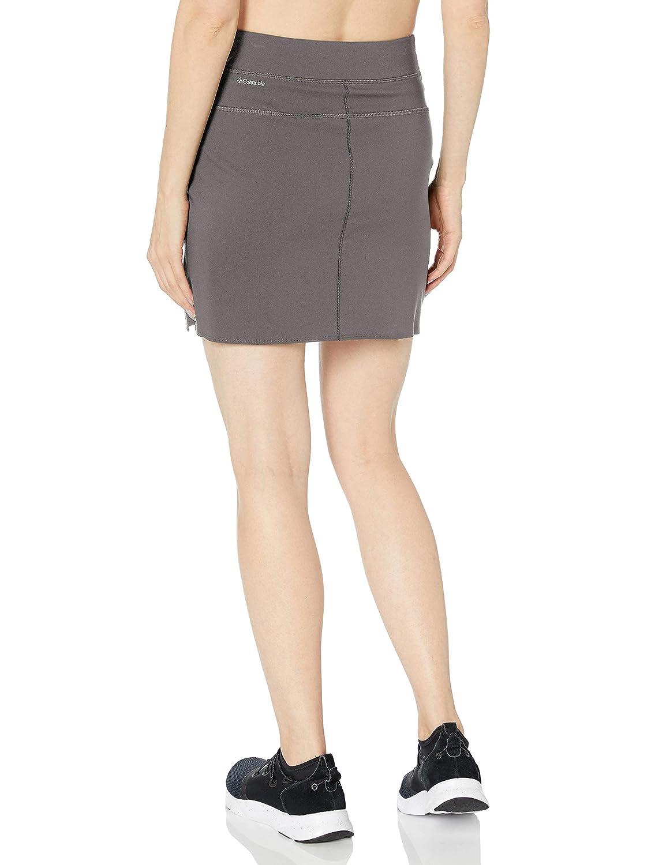Columbia Mujer - Skort (Falda con pantalón Corto) - Gris - Small ...