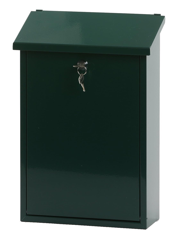 V-Part Wall-Mounted Post Box Height 40 cm Green VB 440070