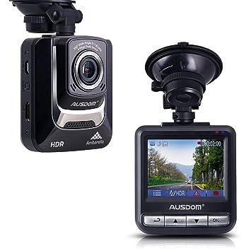 """Ausdom AD282 Cámara de coche 2.4""""LCD grabación 1080p, Micro SD card 16 GB"""