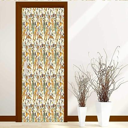 Amazoncom Textilelihome Art Decor 3d Door Wall Mural
