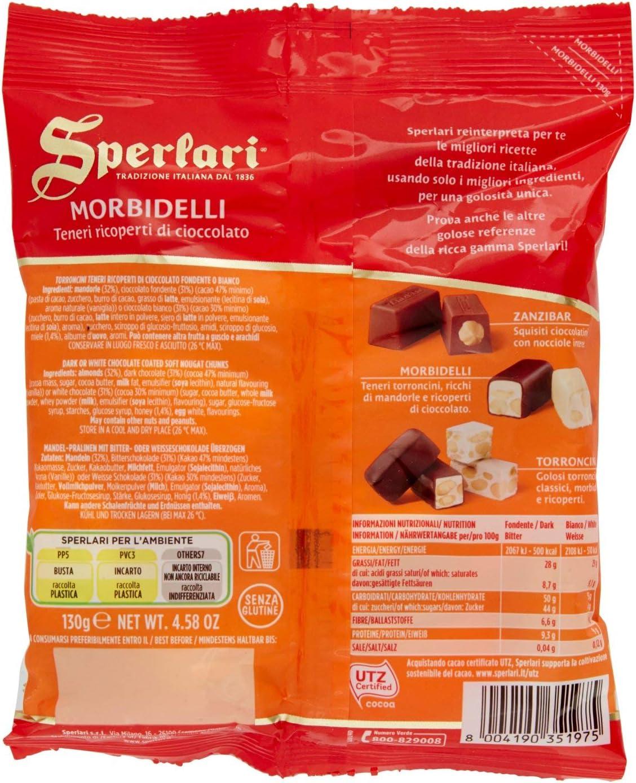 Sperlari Torroncini Morbidelli 130g Amazon It Alimentari E Cura Della Casa
