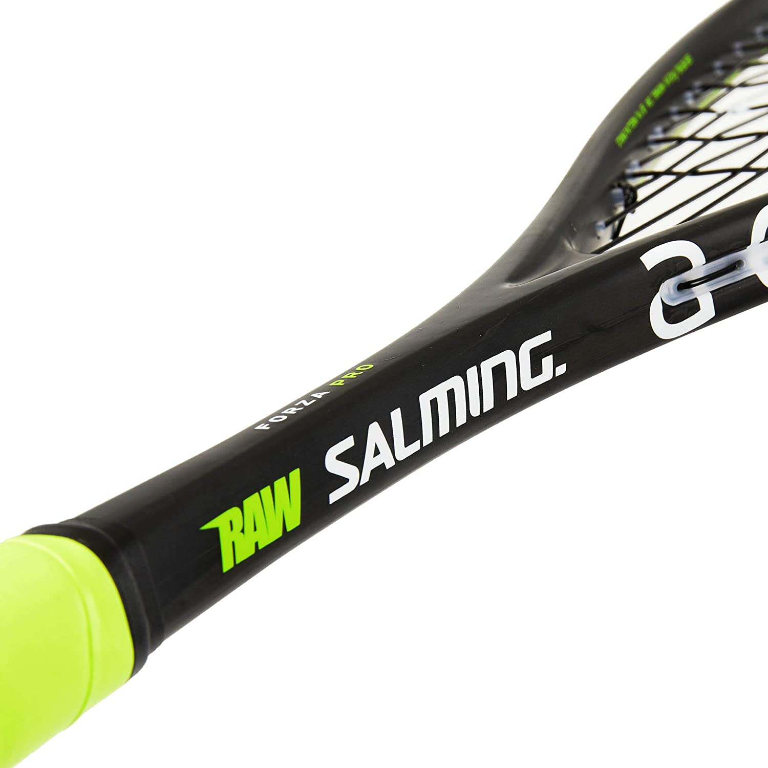 Amazon.com : Salming Forza Pro Squash Racquet (Black/Lime) : Sports & Outdoors