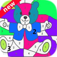 Happy Color-Fun And Happy Coloring By Numbers