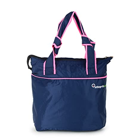 Buy INTEGRITI Blue Hand-held Bag Online at Low Prices in India - Amazon.in 52038844d6ff9