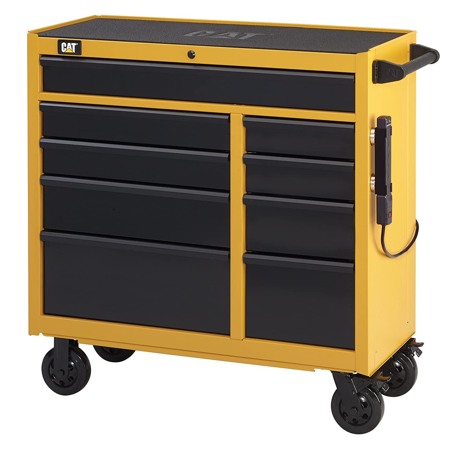Amazon.com: Cat 17-Drawer Ball-Bearing Tool Chest and Cabinet ...