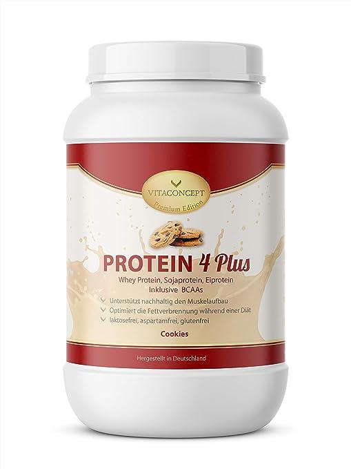 VITACONCEPT PROTEIN 4 PLUS - Compuesto de proteínas - Suero de leche, soja y huevo
