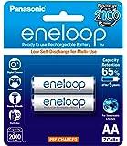 Panasonic Eneloop BK-3MCCE/2BN 2000 mAH AA Battery - Pack of 2