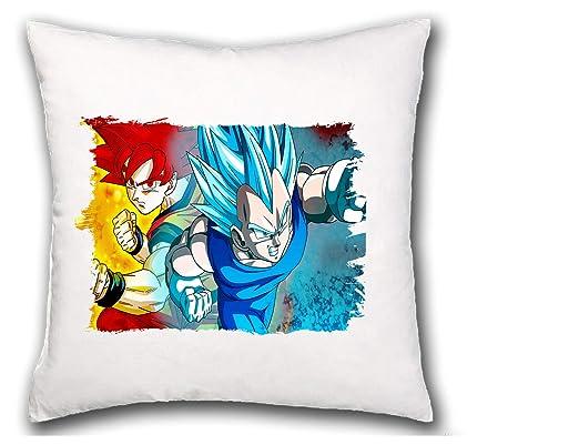 MERCHANDMANIA COJIN Dragon Ball Super Gods SSJ hogar Comodo ...