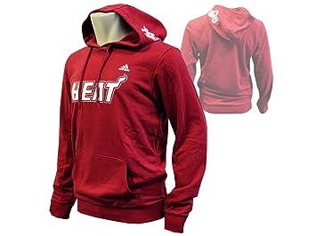 adidas NBA Miami Heat Price PT Po Hoody Sudadera con Capucha Rojo, Hombre, Rojo: Amazon.es: Deportes y aire libre