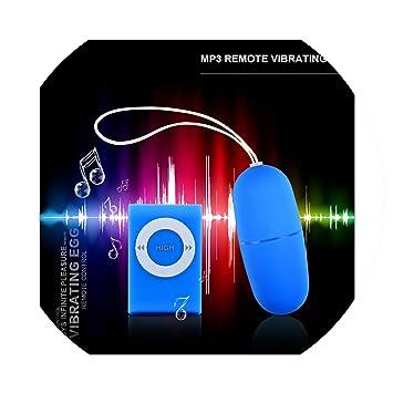 6418fcfc6a0e0 Amazon.com: Adult Add Toy Men Silicone 20 Modes MP3 Remote Vibrating ...