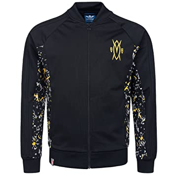 adidas Originals mutombo Superstar Track Top Jacket Chaqueta de entrenamiento m66345, negro, small