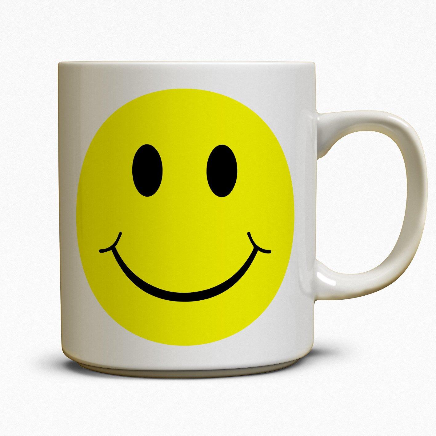 Smiley Face Coffee Mug Acid House Smiley Face Mug Amazoncouk Kitchen Home