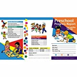 Pack of 80 Preschool Progress Reports for 4 and 5
